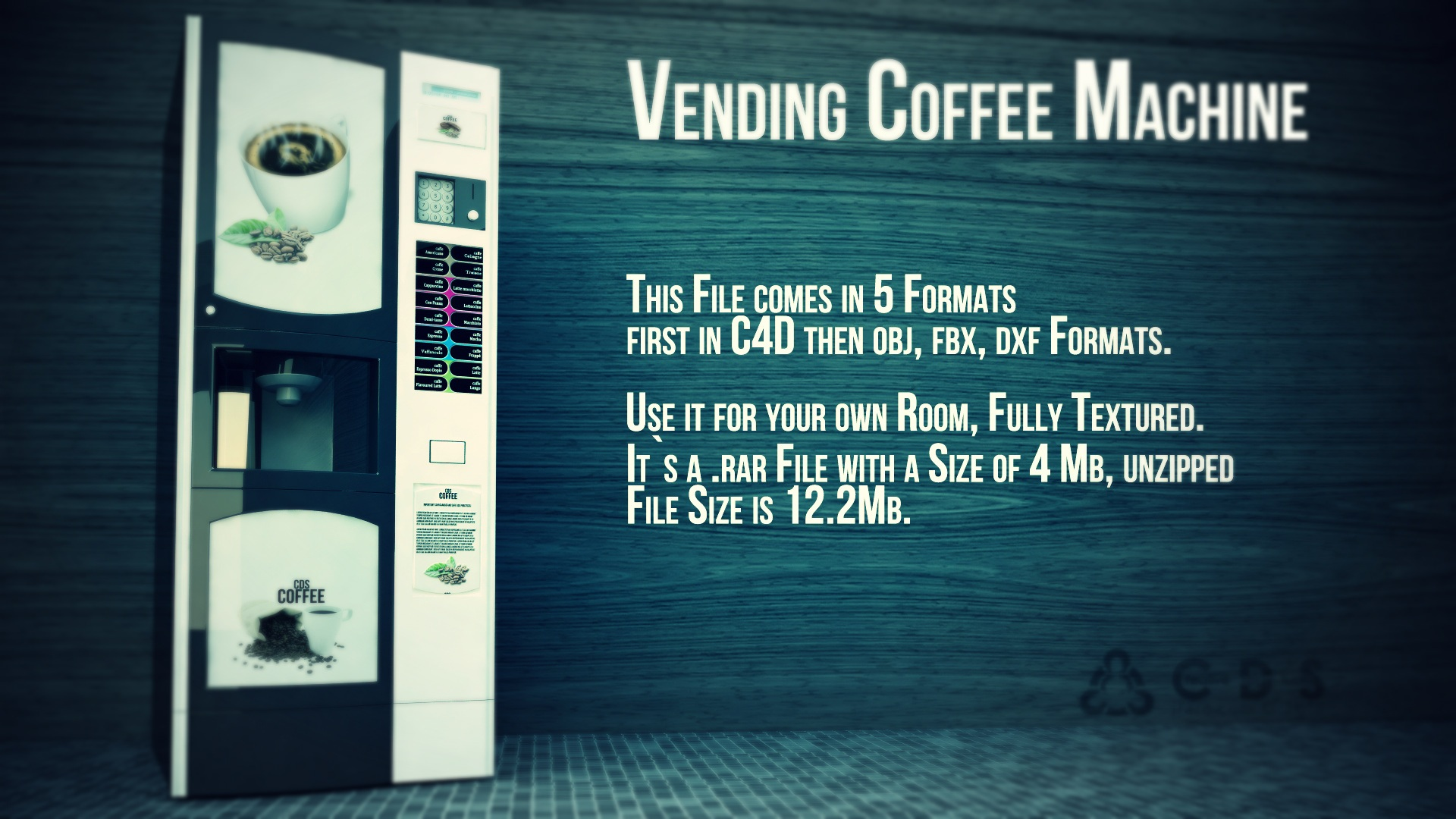 Vending Coffee Machine